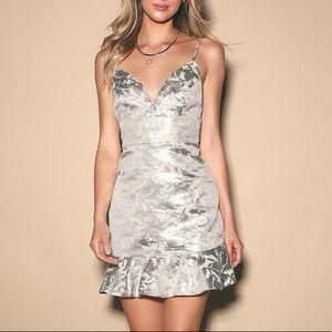 Silver Graduation Dress!!